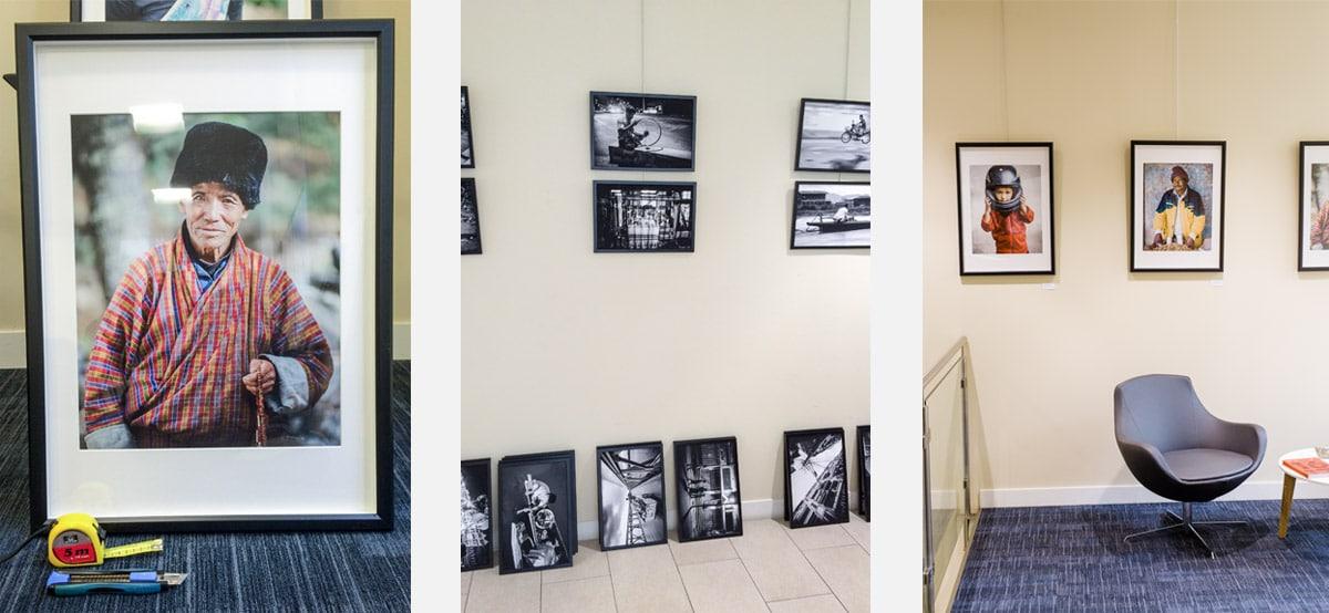 Un photographe Lyonnais qui expose des portraits et des photographie capturées en Asie (Bhoutan, Birmanie, Laos, Cambodge) exposition fine art.
