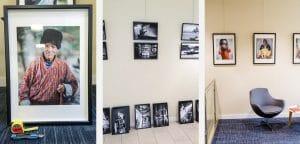 Un photographe Lyonnais qui expose des portraits et des photographie capturées en Asie (Bhoutan, Birmanie, Laos, Cambodge)