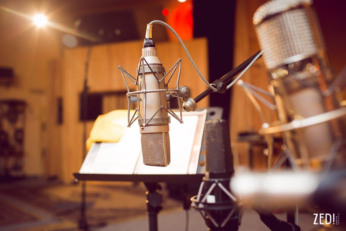 Un reportage photos d'un enregistrement musical en studio avec deux grand artistes connus internationalement connu Richard Galliano et Sylvain Luc.