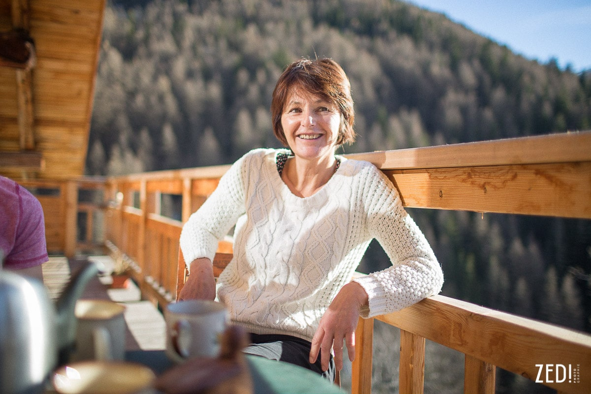 Un photographe reportage lyonnais dans les Alpes Françaises proches des Arcs Paradiski.